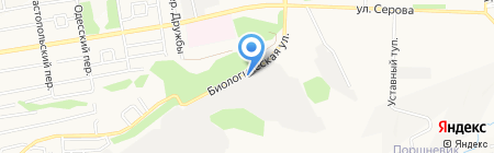 Ставропольская биофабрика на карте Ставрополя