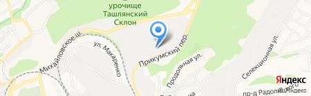 Технологии Комфорта на карте Ставрополя