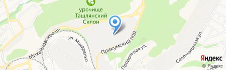 Байкал-Сервис на карте Ставрополя
