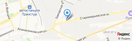 Тон и К на карте Ставрополя