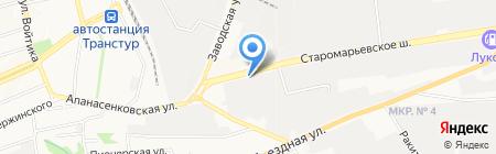 Техно Юг на карте Ставрополя
