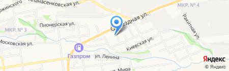 Центр красоты и здоровья на карте Ставрополя