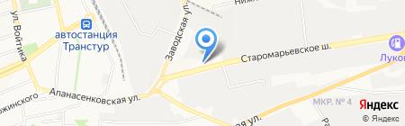 Чистофф на карте Ставрополя