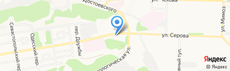Держава на карте Ставрополя