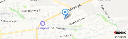 Почтовое отделение №20 на карте Ставрополя