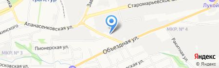 Авторазбор на карте Ставрополя