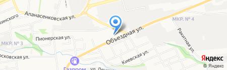 Надежда на карте Ставрополя