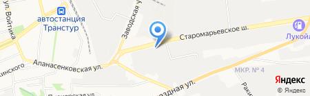 Региональный навигационно-информационный центр Ставропольского края на карте Ставрополя