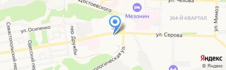 ТУР26 на карте Ставрополя