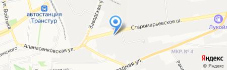 МИРКОМ на карте Ставрополя
