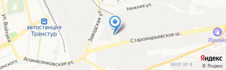 Автостекольщик.рф на карте Ставрополя