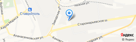 Магазин автомобильных бортовых компьютеров на карте Ставрополя