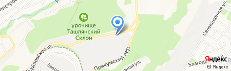 Мелиса Плюс на карте Ставрополя