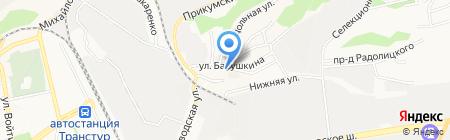 Магазин №54 на карте Ставрополя