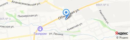 Детский сад №42 Русь на карте Ставрополя