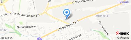 Мотор Маркет на карте Ставрополя