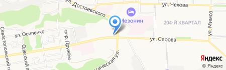 МаксиМотто на карте Ставрополя