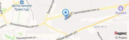РОЛ на карте Ставрополя
