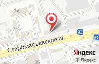Схема проезда до компании Вирмен в Ставрополе