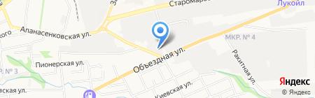 ЮгЛес на карте Ставрополя