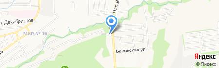 Флорес на карте Ставрополя