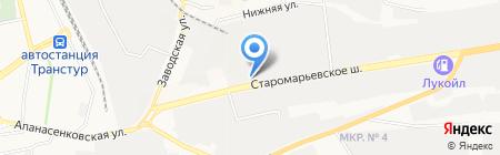 Адвокатский кабинет Халатян Г.К. на карте Ставрополя