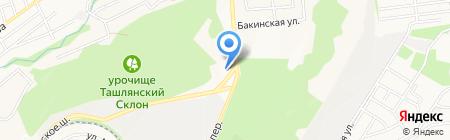 Онегин на карте Ставрополя
