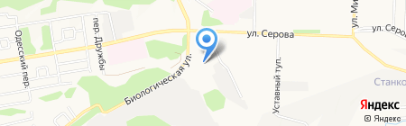 Детский сад №37 на карте Ставрополя