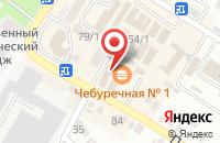 Схема проезда до компании Дубки в Михайловске