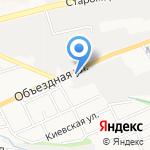 Автосвет на карте Ставрополя