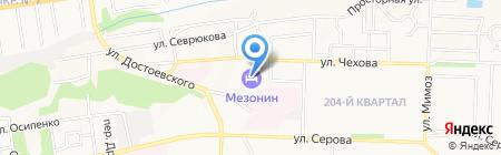 VOYAGE Hotels Мезонин на карте Ставрополя