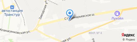 Ставпромкомплект на карте Ставрополя