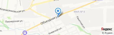 Аэрация на карте Ставрополя