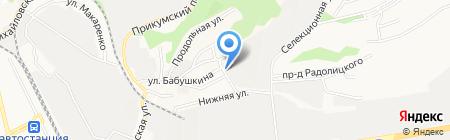 Стройматериалы на карте Ставрополя