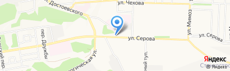 Драйв на карте Ставрополя