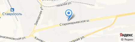 Торговая компания на карте Ставрополя