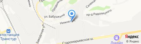 Химчистка №1 на карте Ставрополя