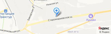 Строй Двор на карте Ставрополя