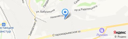 Талисман на карте Ставрополя
