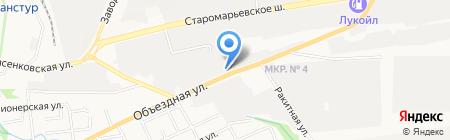 Ставрополь-Подшипник на карте Ставрополя