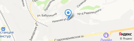 Ремонтир на карте Ставрополя