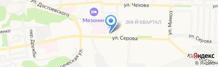 Матрёшка на карте Ставрополя