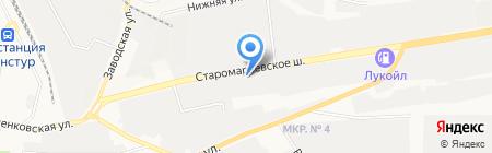 Банкомат Росгосстрах Банк на карте Ставрополя