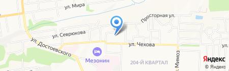 Дружба на карте Ставрополя