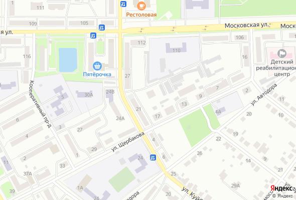 ЖК по ул. Щербакова