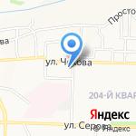 Маникюрный салон на карте Ставрополя