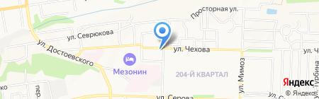Сан Саныч на карте Ставрополя