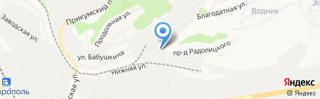 ДМД на карте Ставрополя
