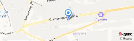 УниПак-Юг на карте Ставрополя