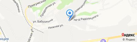 НВС на карте Ставрополя